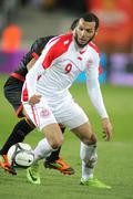Tunisian player Yassine Chikhaoui Stock Photos