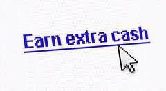 Internet link title - stock illustration