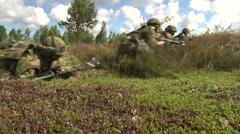 US Marines - Field Training Exercise 03 - stock footage