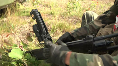 US Marines - Field Training Exercise 04 Stock Footage