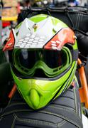 Motorcycle helmet Stock Photos