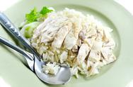 Rice with chicken Stock Photos