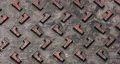Stock Photo of rust on steel plate background