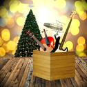 Stock Illustration of Play music in holiday concept, Christmas day