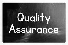 quality assurance concept - stock illustration