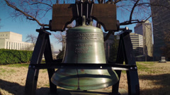 Nashville Capitol Liberty Bell 1 HD Stock Footage