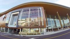 Nashville Music City Center Stock Footage