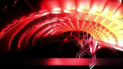 Night Club Fly Through Light Color Beat Movement VJ Loop HD Stock Footage