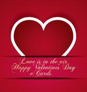 Stock Illustration of happy valentines day