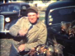1940's Pheasants Stock Footage