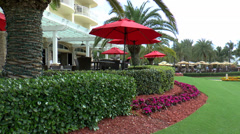 Marco Island Patio 01 Stock Footage