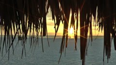 Marco Island Beach Sunset 03 Stock Footage