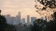 Stock Video Footage of LA SKYLINE - 1
