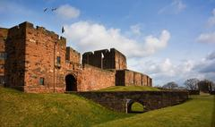 Carlisle castle Stock Photos