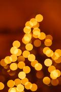 abstract background. blurred colorful circles bokeh - stock photo