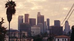 Stock Video Footage of LA SKYLINE - 5