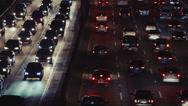Stock Video Footage of Los Angeles - Traffic Closeup 3
