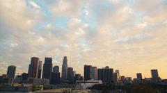 Stock Video Footage of Los Angeles Skyline - 3