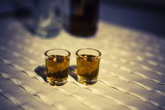 Czech rum Stock Photos