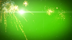 Happy New Year 2014 growing style 8 Stock Footage