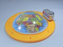 Globe, world tour concept Stock Photos