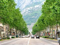 Cours jean jaures grenoble france Stock Photos