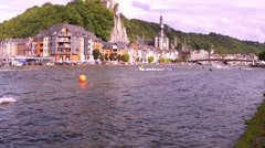 Personal Watercraft Championship in Dinant. - stock footage