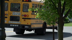 Stock Video Footage of Getting to school on the bus (2 of 2)