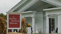 The Norman Rockwell Museum Stock Footage