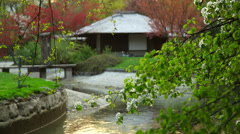 Teahouse in English Garden_16 Stock Footage