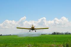 Spray Plane - stock photo