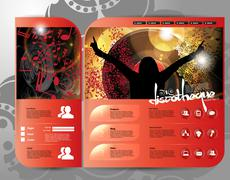 Music event background Stock Illustration