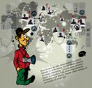 Stock Illustration of Photographer Vector