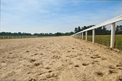 Stock Photo of southern horse track