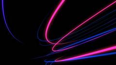 NeonTrails VJ Loop (12) Stock Footage