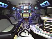 Stock Photo of limo inside