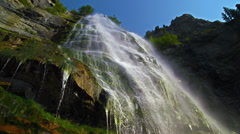 Bridal Veil Falls cu 4K Stock Footage