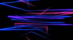 NeonTrails VJ Loop (10) Stock Footage