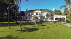 Wrigley Mansion Pasadena CA - stock footage