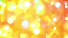 defocused christmas light - stock footage