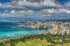 Honolulu ja mamala lahti Kuvituskuvat