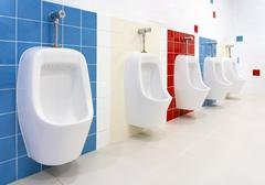 Stock Photo of Preschool Washroom