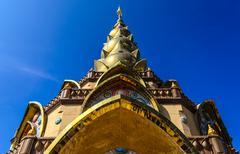 phasornkaew temple khao kho - stock photo