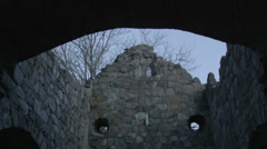 Stone ruins Stock Footage