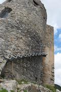 Castle arechi - bastiglia Stock Photos