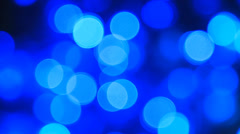 Bluebokeh Stock Footage