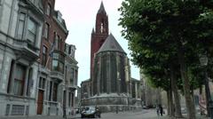 St John's Church (Sint Janskerk), Maastricht, Limburg, the Netherlands. Stock Footage
