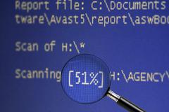 computer monitor screen - stock illustration