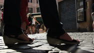 Stock Video Footage of Close up feet, prostitute