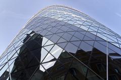 The Gherkin London - stock photo